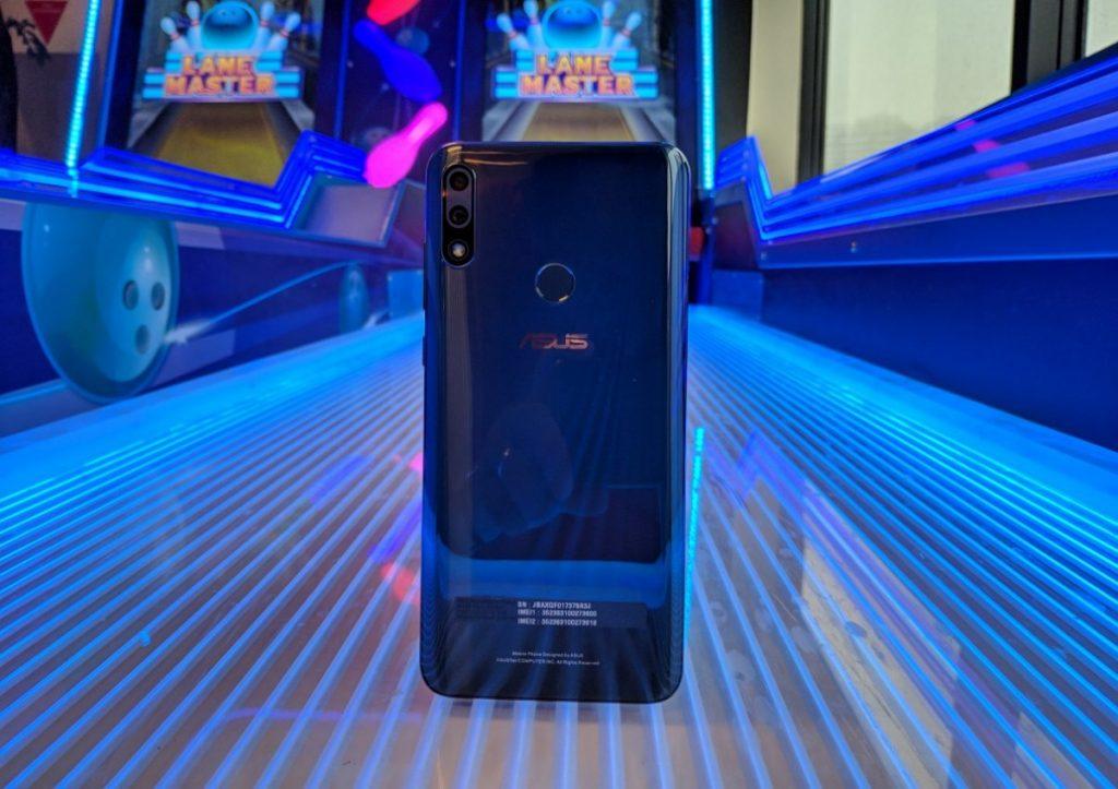 Asus Zenfone Max Pro M2 back