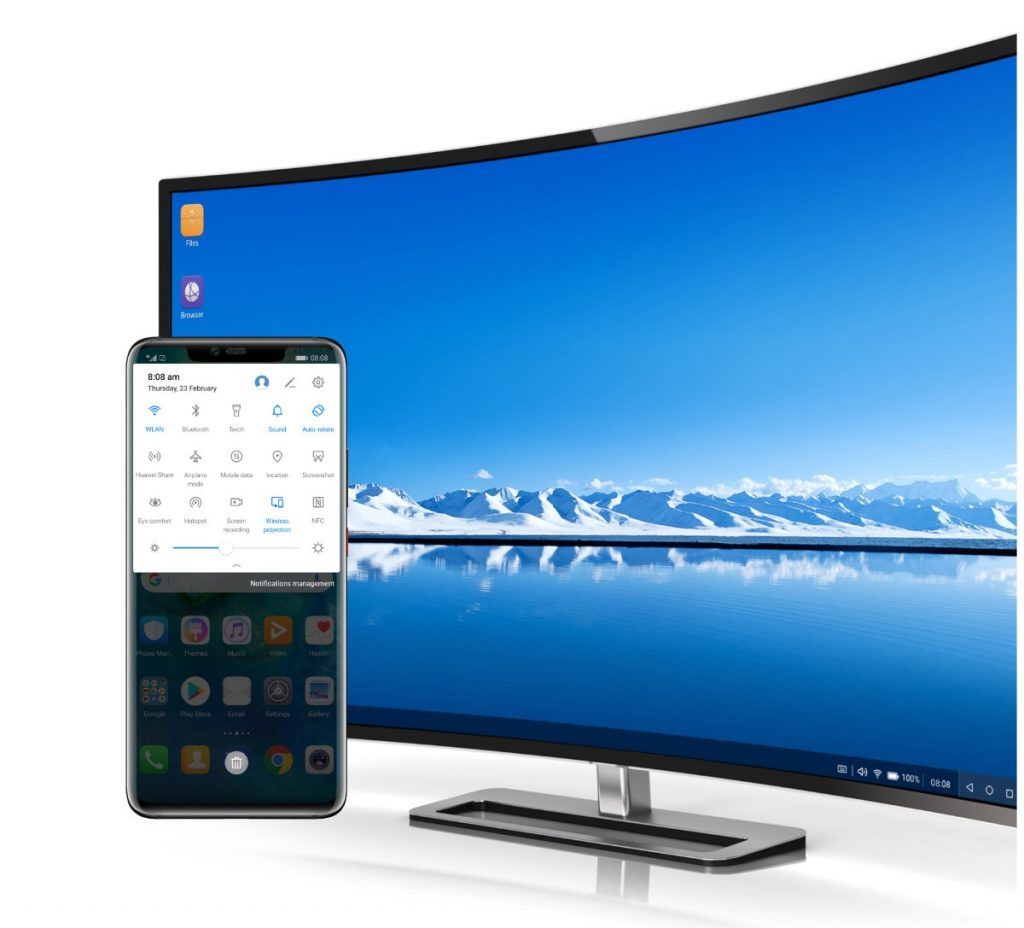 EMUI Easy Projection
