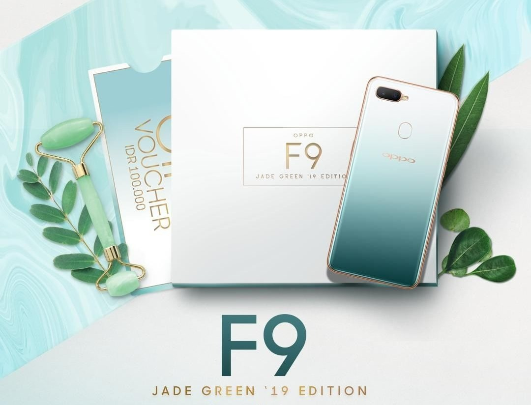 OPPO F9 Jade Green '19 Edition