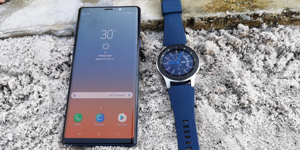 Samsung Galaxy Watch dan Galaxy Note 9