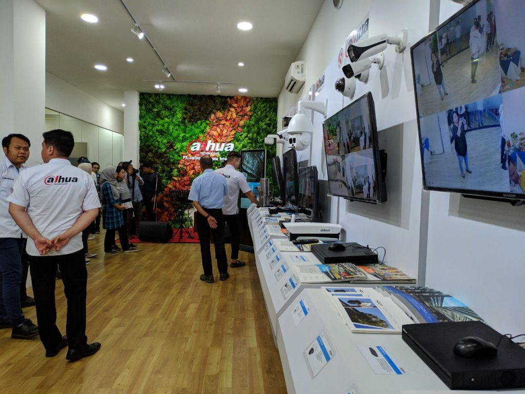 showroom Dahua PIK