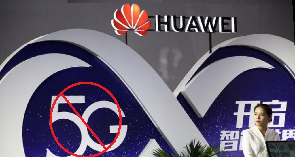 Pemblokiran Peralatan Jaringan 5G Huawei