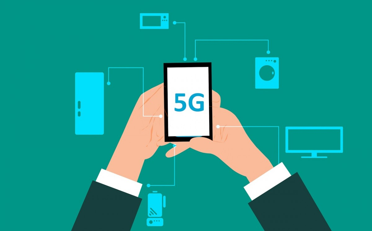 Ilustrasi Teknologi Jaringan 5G (sumber: Pixabay)