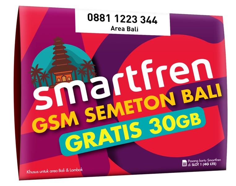 Kartu Perdana Bali Smartfren
