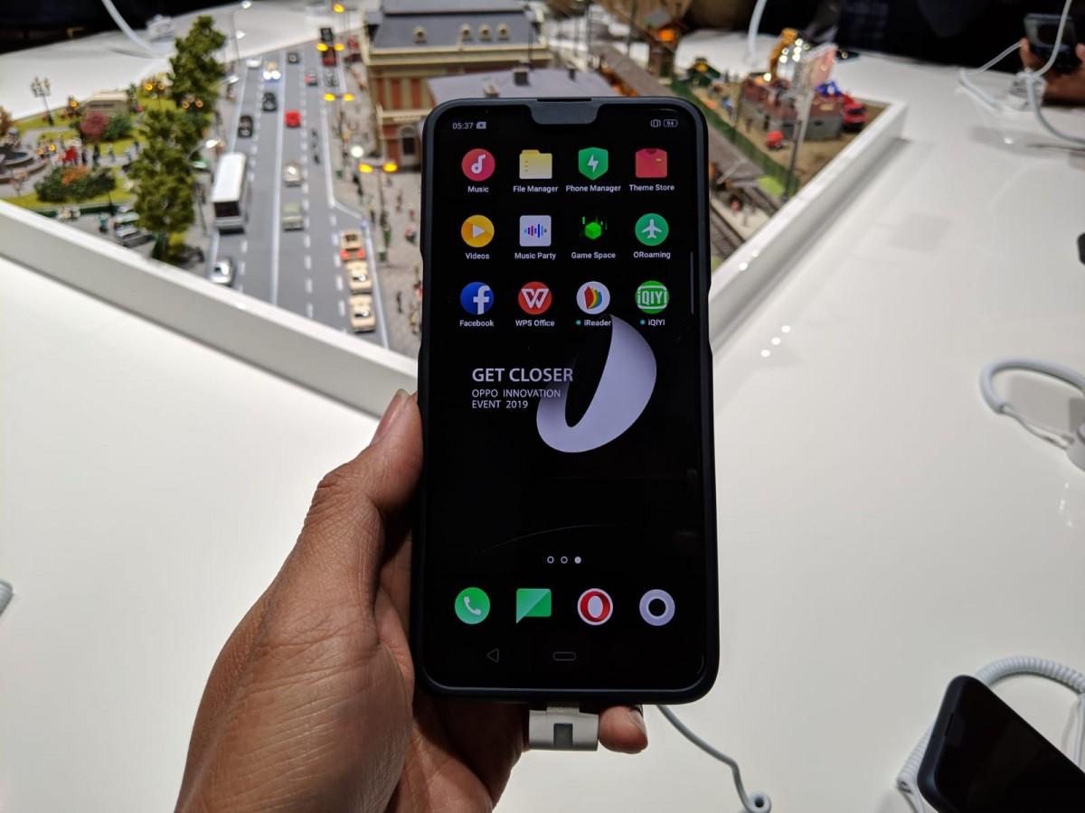 smartphone 5G pertama OPPO