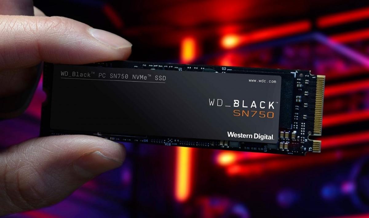 SSD WD Black SN750 NVMe