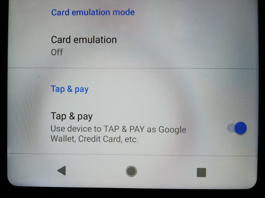Tap & Pay