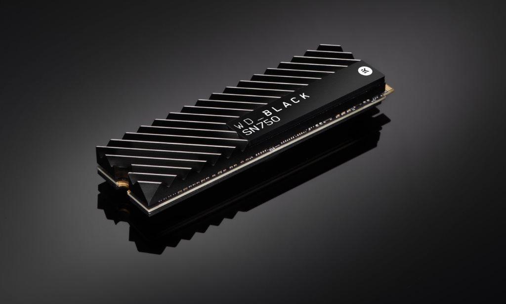Western Digital SSD NVMe WD Black SN750