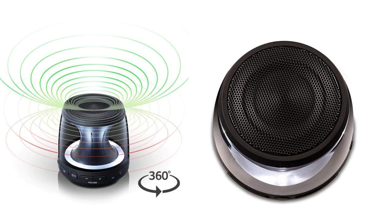 Desain Speaker Portabel LG PH1