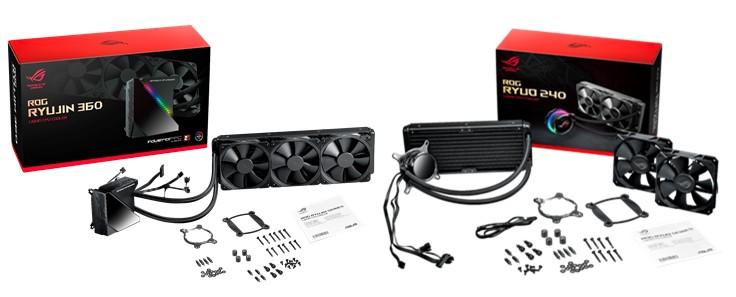 CPU Cooler, ROG Ryujin 360 dan ROG Ryuo 240