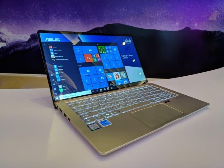 review layar Asus ZenBook 13 UX333FA