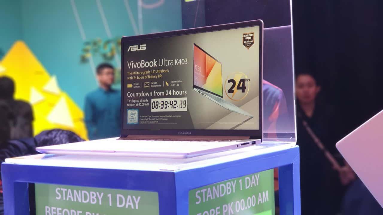 Spek & Harga Asus VivoBook Ultra K403, Laptop Militer