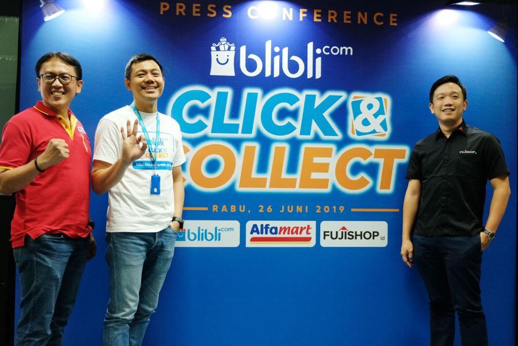 Fitur Blibli Click & Connect