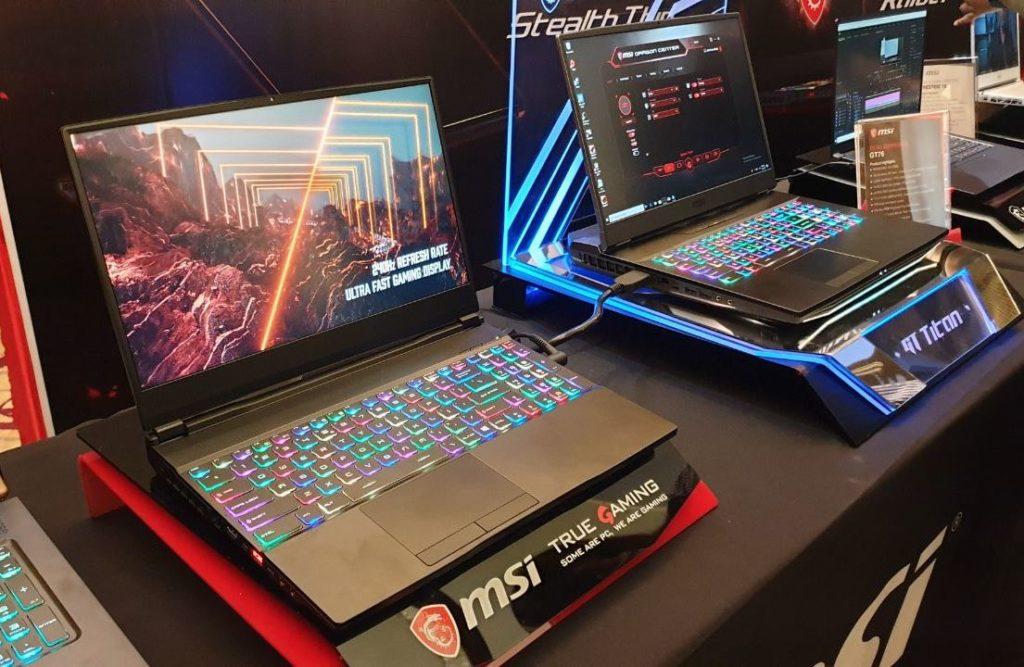 laptop gaming MSI GE65