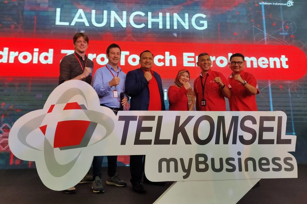 Telkomsel MyBusiness Android Zero Touch