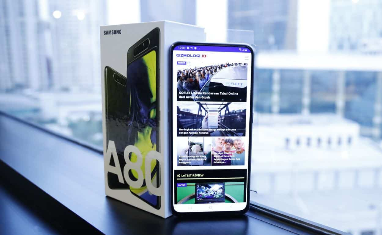 Samsung Galaxy A80 - Features and key specifications