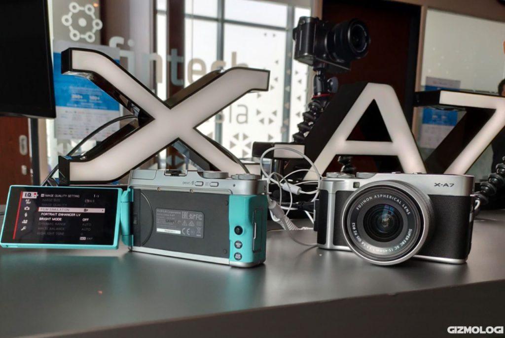 Fujifilm X-A7 kamera