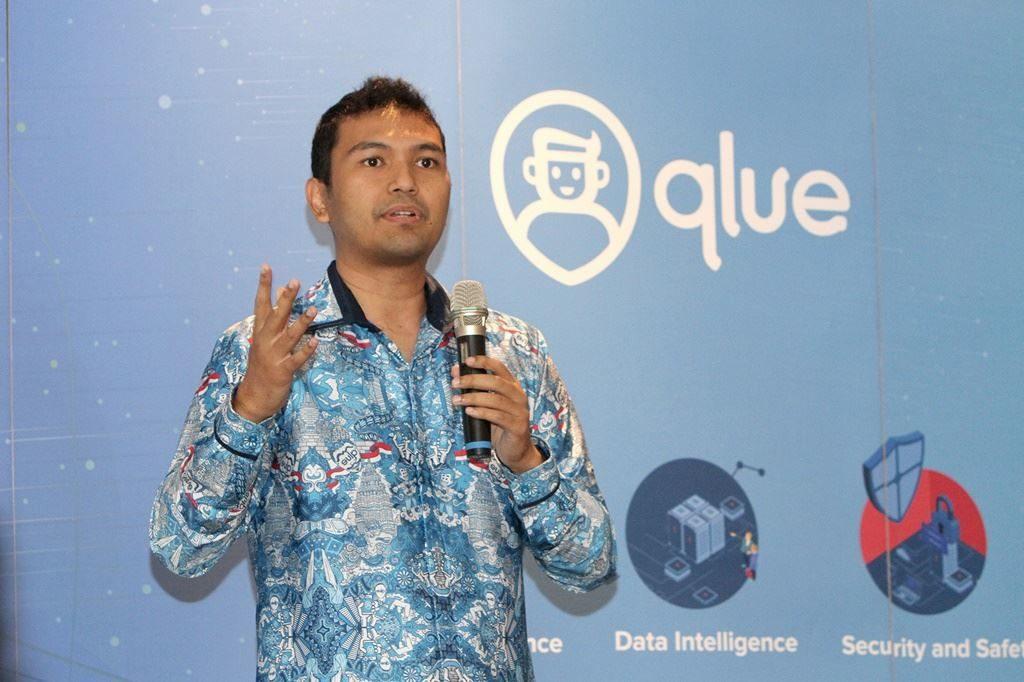 Rama Raditya, CEO dan Founder Qlue