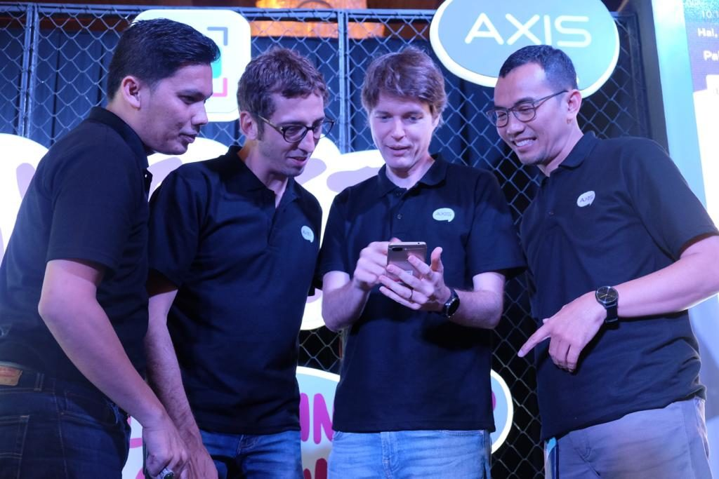 Aplikasi AXISnet