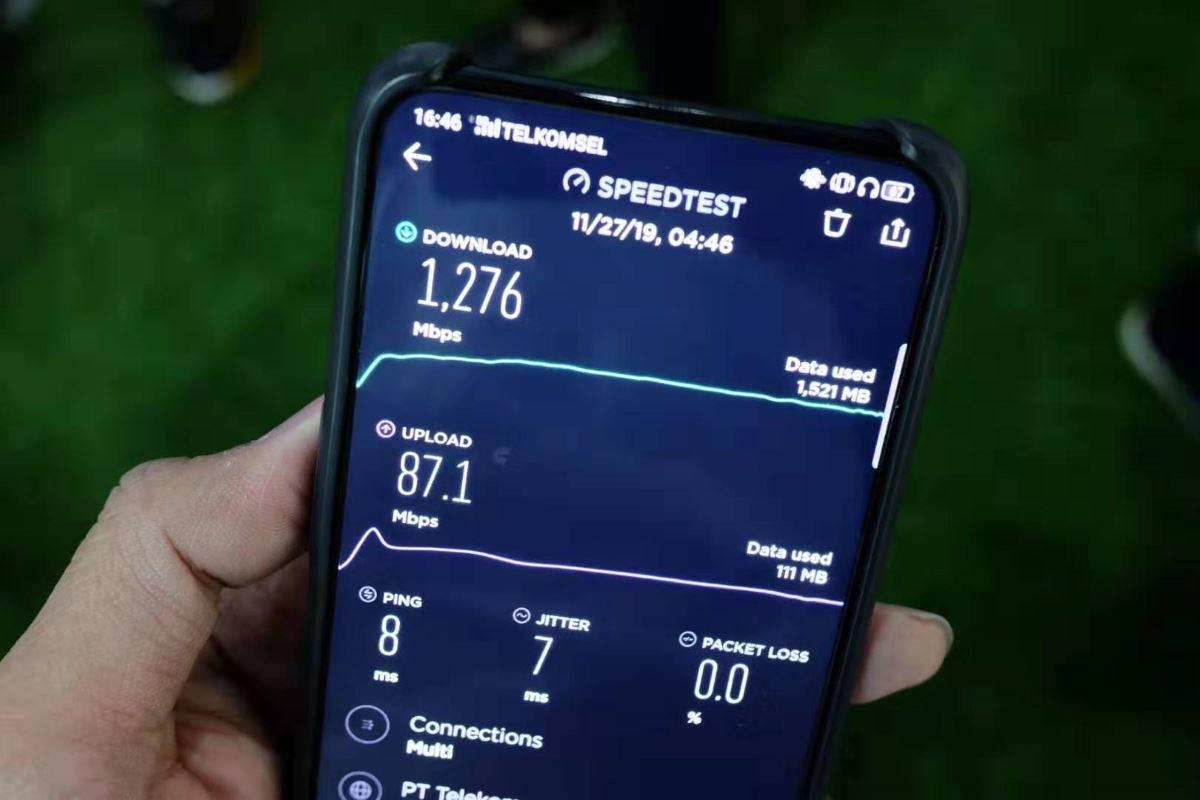 OPPO Reno 5G Telkomsel