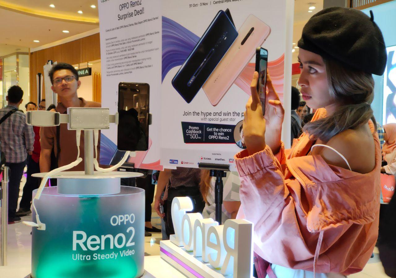 Penjualan perdana OPPO Reno2