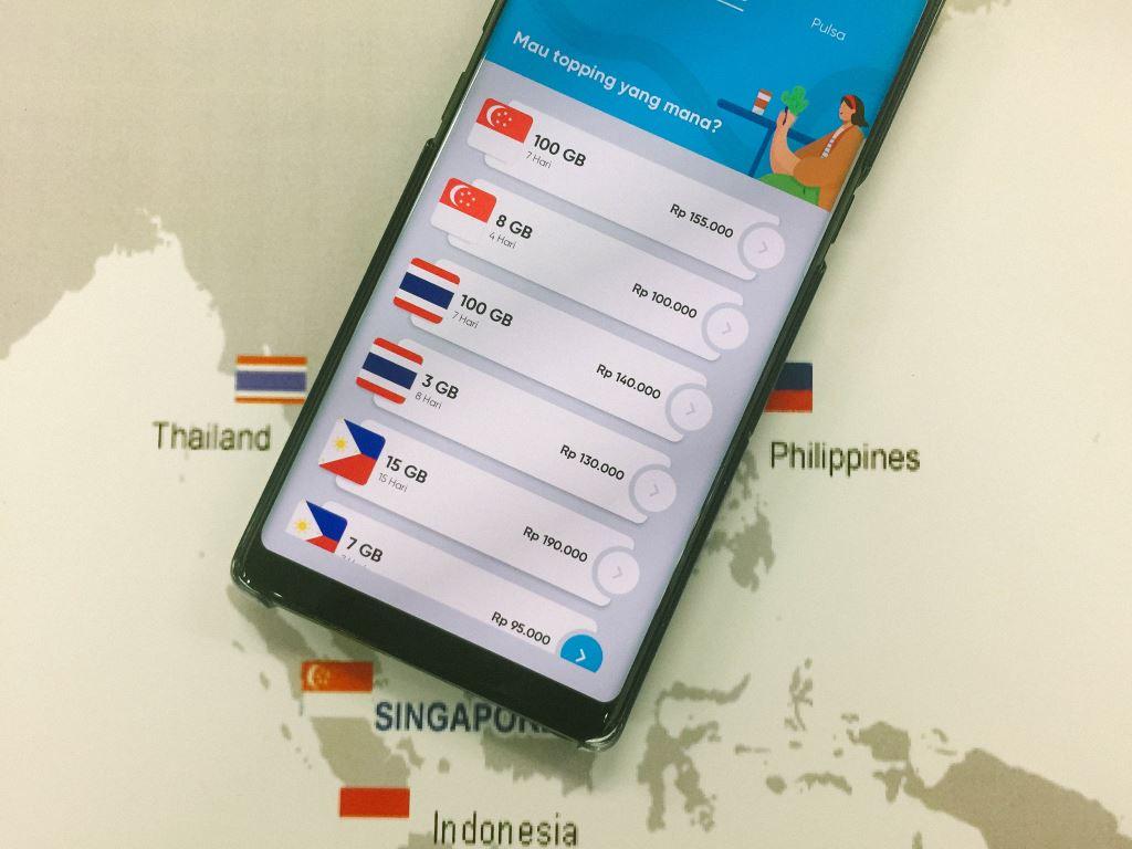 Paket data roaming by.u