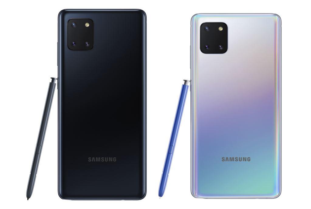Samsung Galaxy Note10 Lite wARNA
