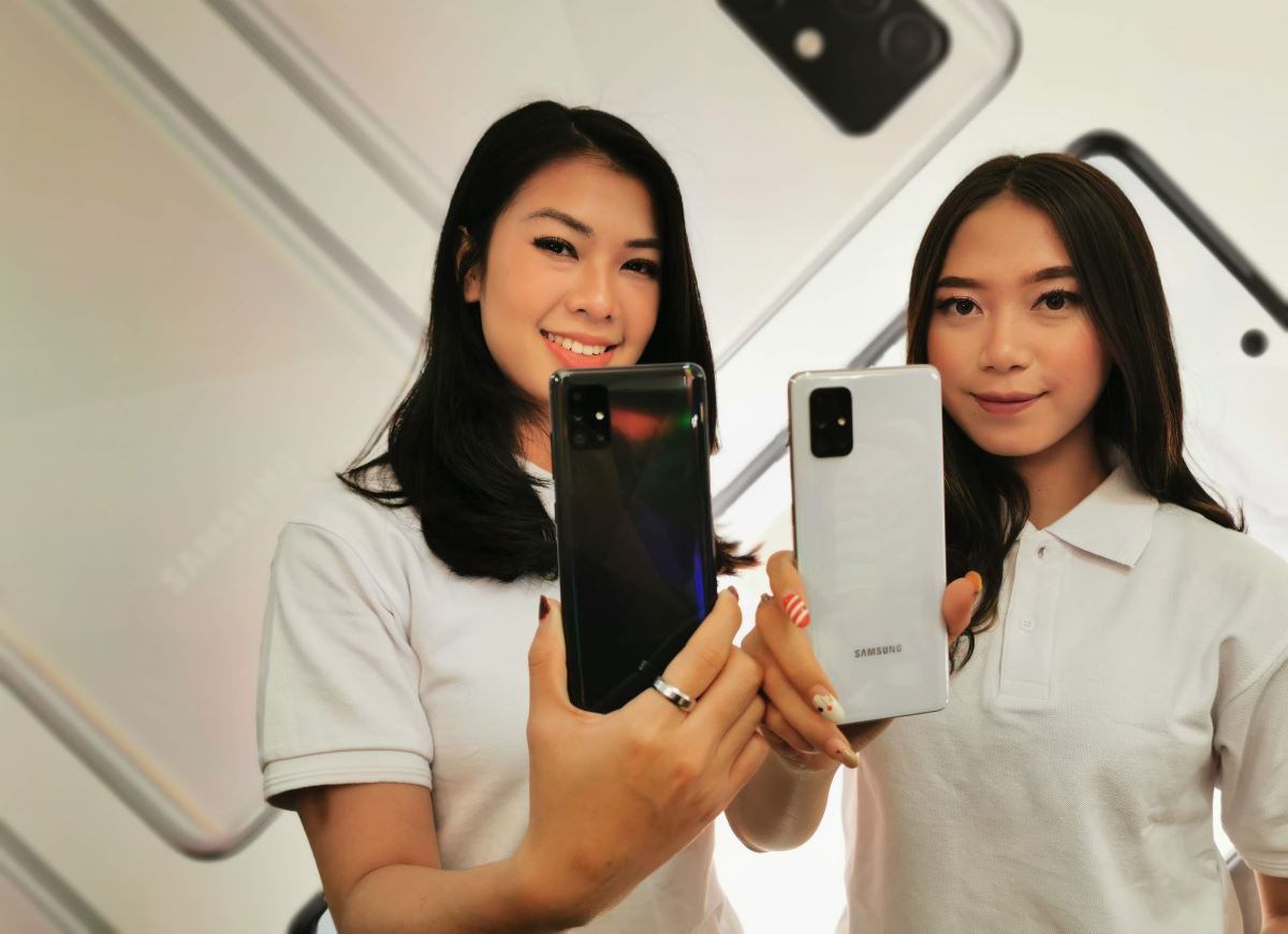 Samsung Galaxy A51 dan Galaxy A71