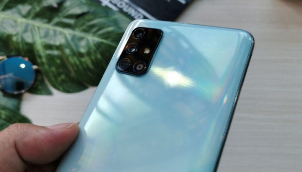 kamera Samsung Galaxy A71