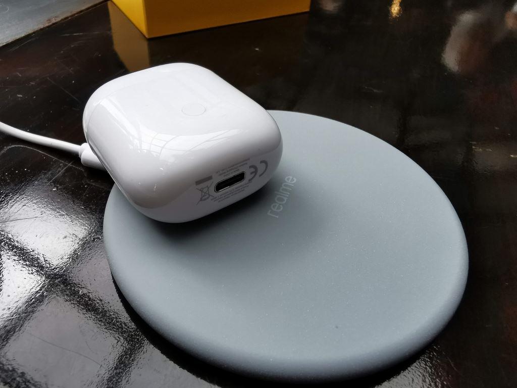 realme buds air baterai