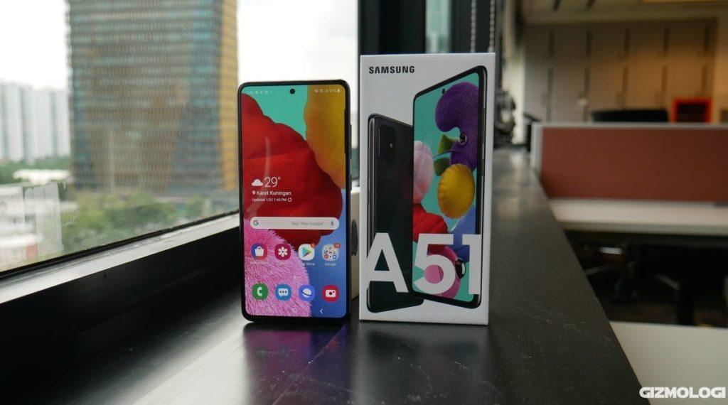 Samsung Galaxy A51 spesifikasi harga