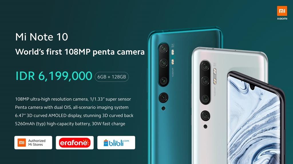 Beli Xiaomi Mi Note 10
