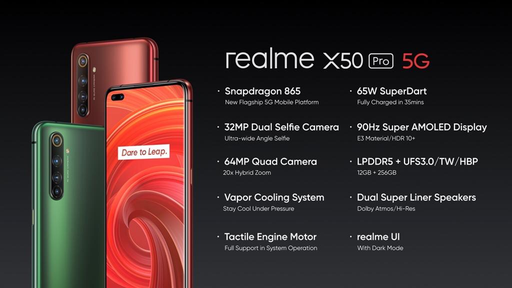 realme X50 Pro 5G – Main Specs
