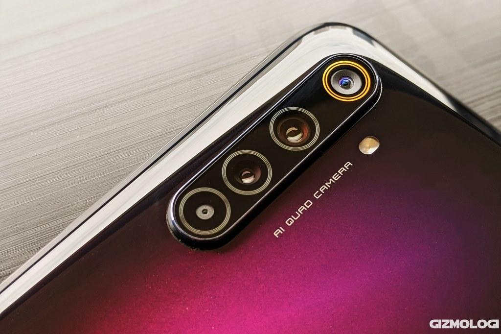 Kamera belakang realme 6 Pro