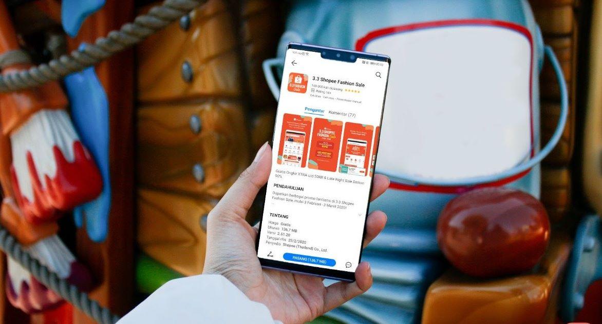 Huawei AppGallery Shopee