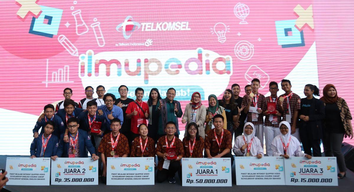 Paket Data Ilmupedia Telkomsel Kuis IBJ
