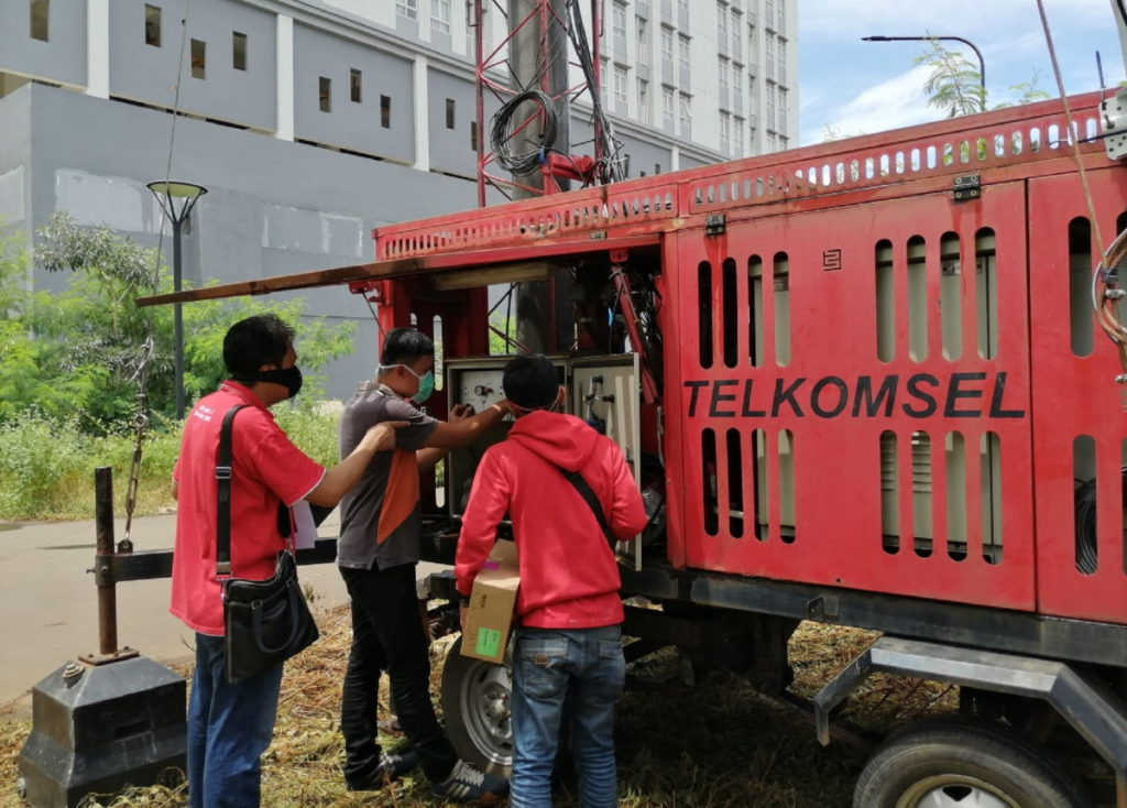 Telkomsel Mobile BTS RS Darura