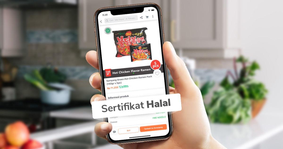 Tokopedia Salam Permudah Masyarakat Belanja Produk Bersertifikat Halal