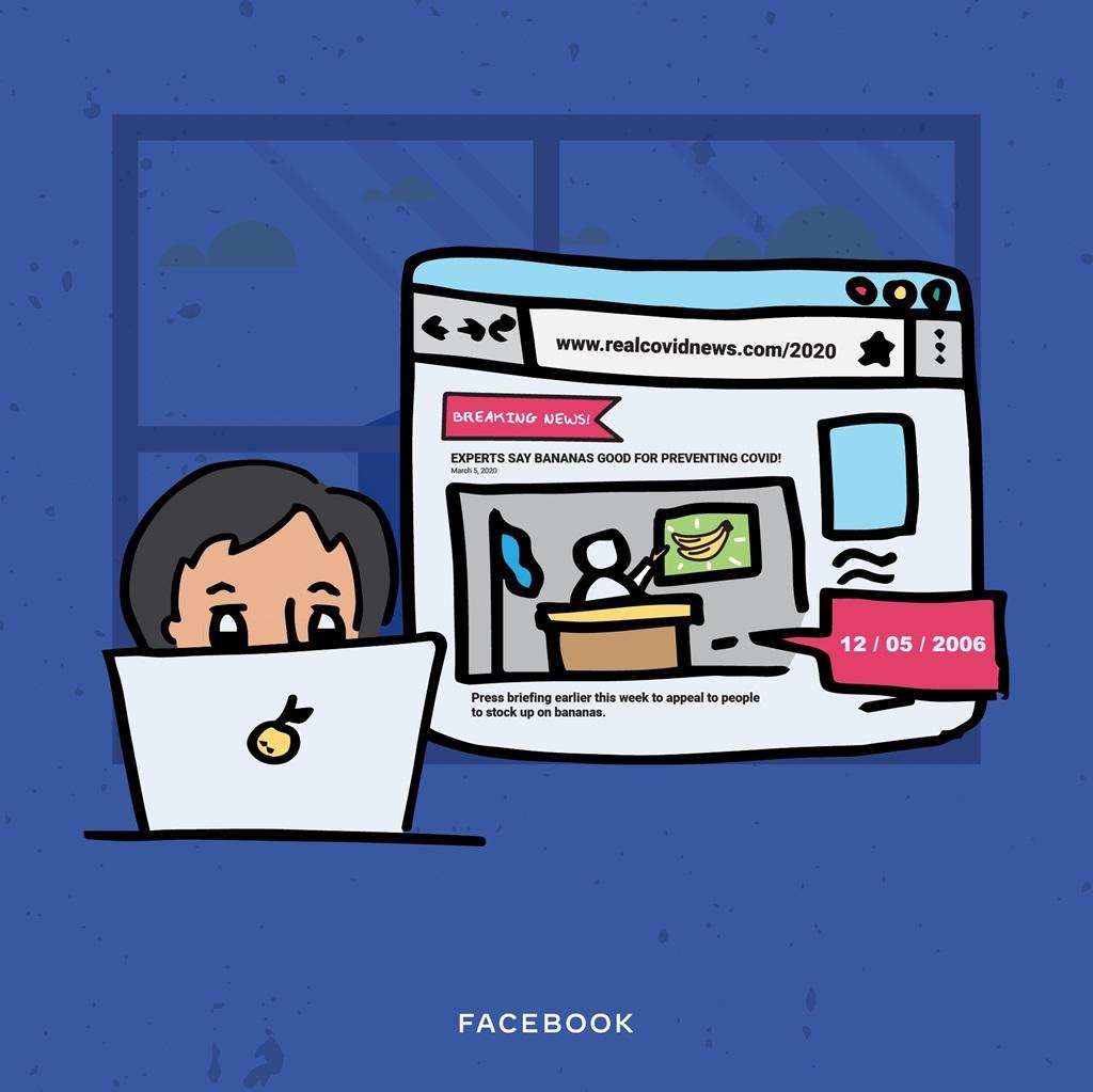 Tips tangkal berita dari Facebook