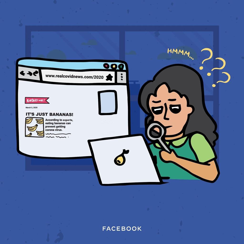 Facebook: Perhatikan URL berita