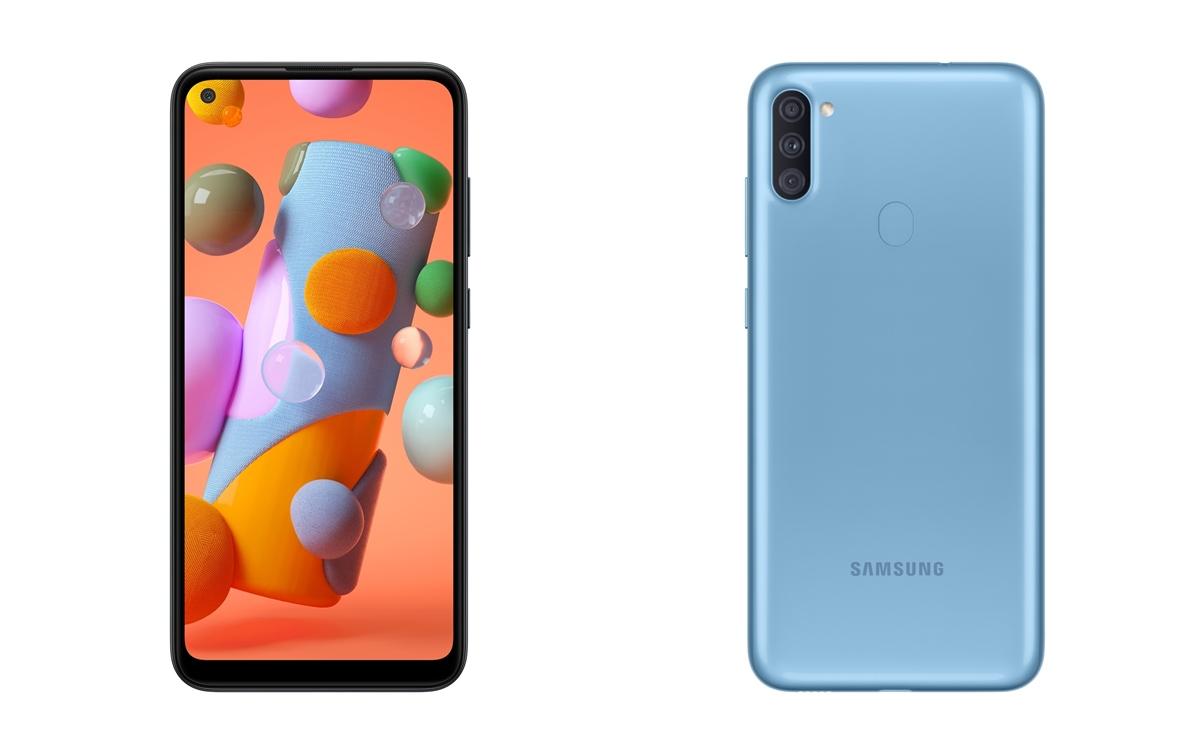 Samsung Galaxy A11 Ponsel Termurah Dengan Punch Hole Display