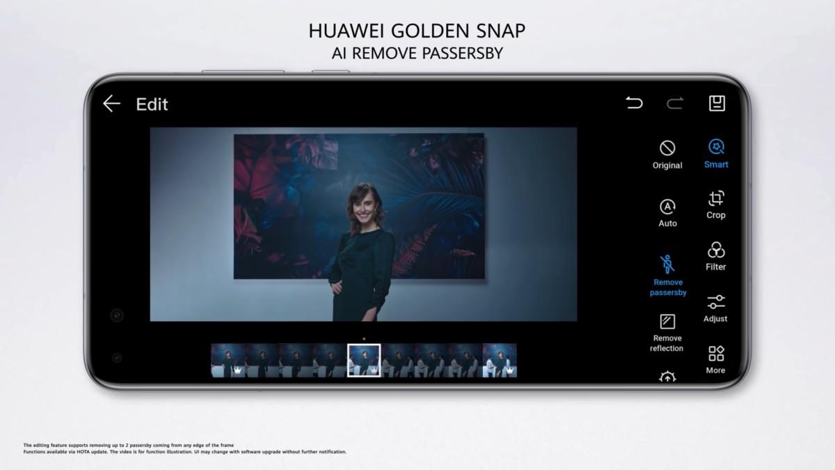 Huawei Golden Snap pada P40 series