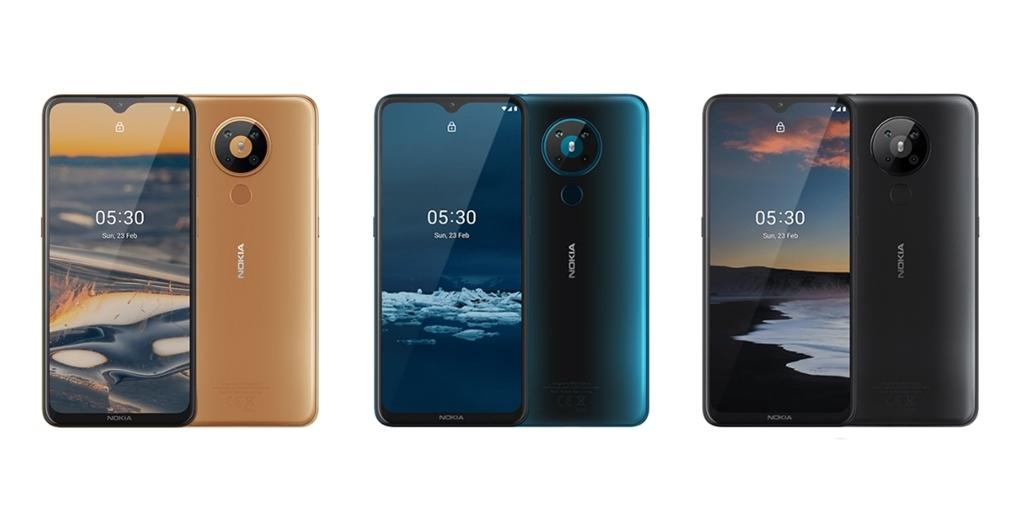 Pilihan warna spesifikasi Nokia 5.3