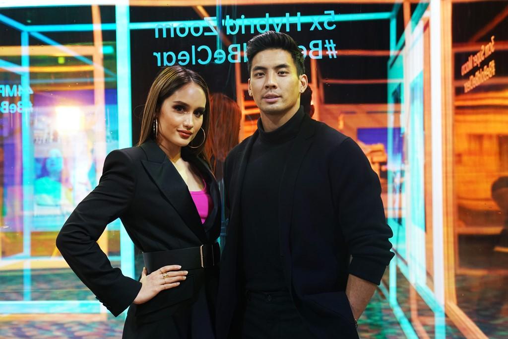 Cinta Laura dan Yoshi Sudarso, brand ambassador OPPO Reno3