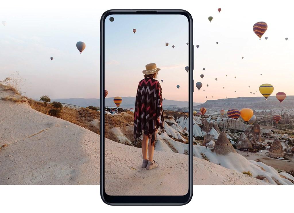Layar depan Samsung Galaxy M11