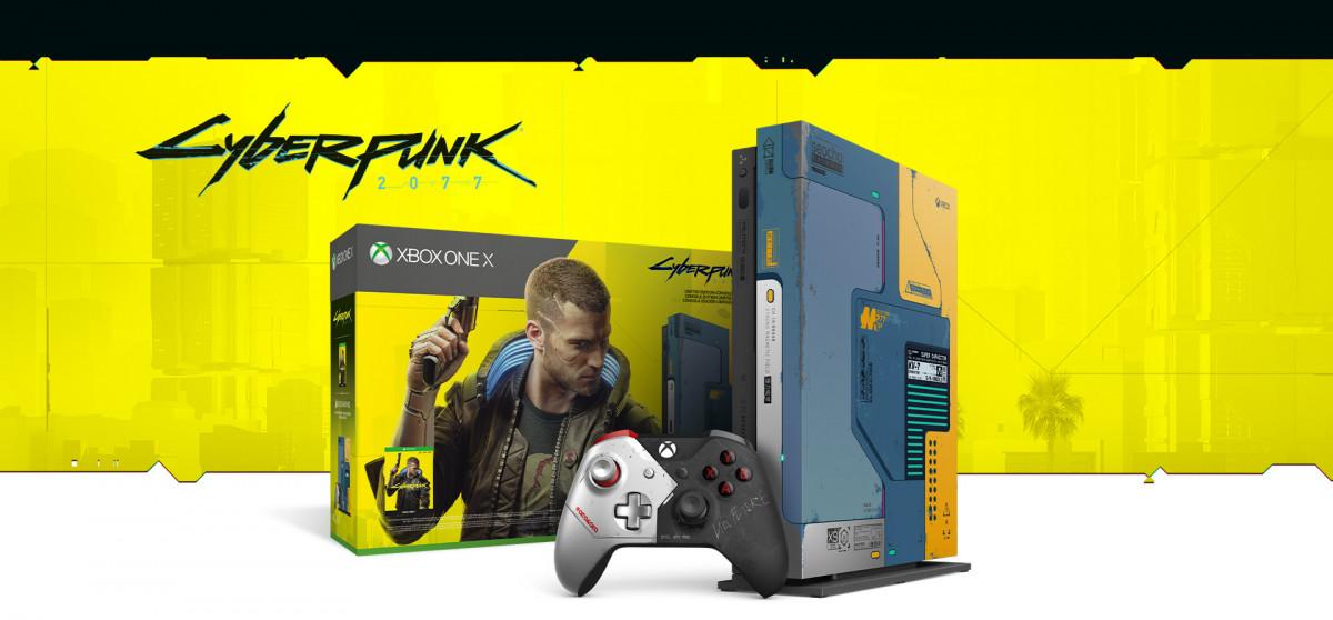 X Box One X Cyberpunk 2077 bundle