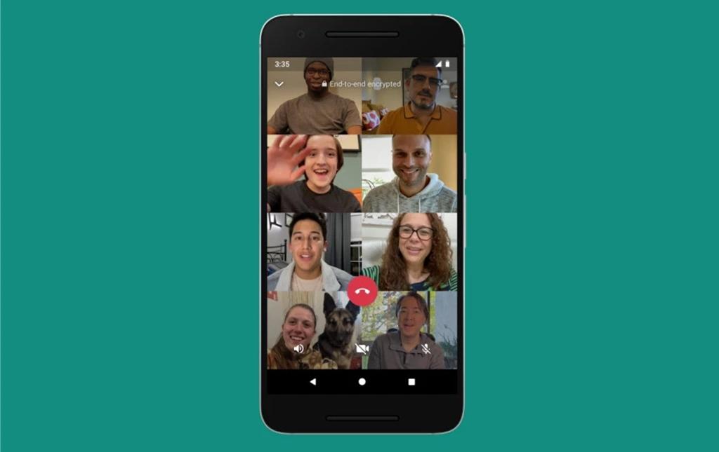 WhatsApp Group Video Call