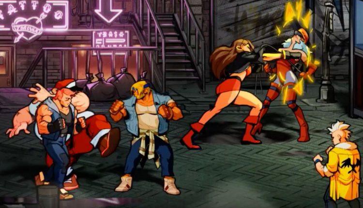 Game Klasik Street of Rage 4