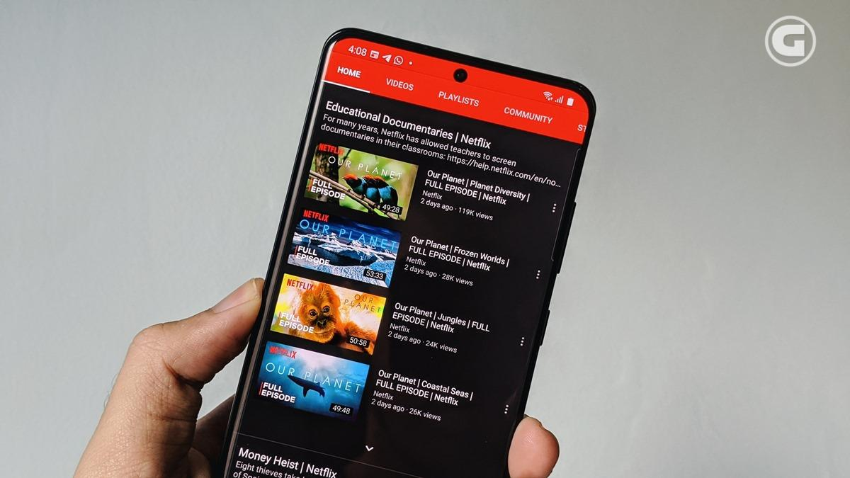 Tayangan dokumenter Netflix