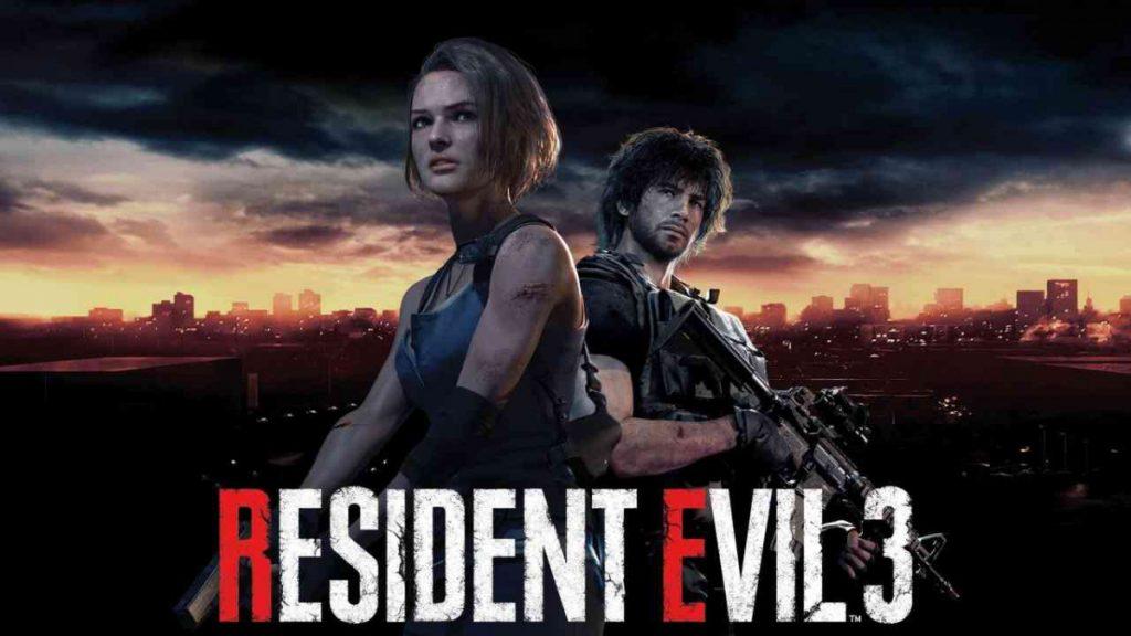 resident evil 3 remake wallpaper